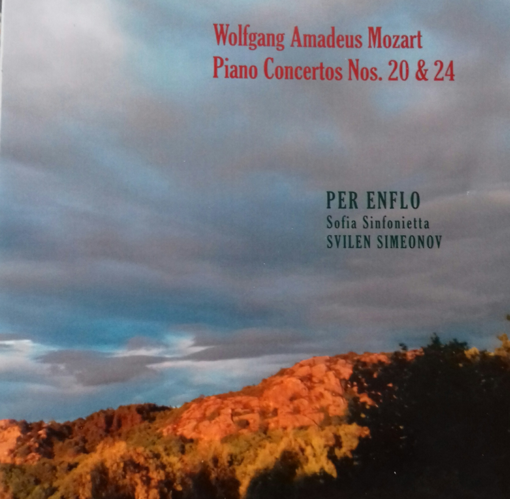 Mozart Piano Concertos No 20 in d minor K466 No 24 in c minor K491 Katalognr. EMP4 2016
